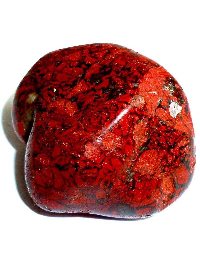 Edelstein Jaspis rot