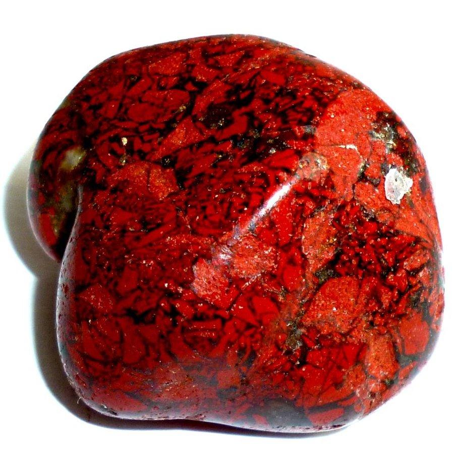 Edelstein Jaspis rot-2