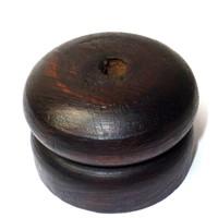 thumb-Feder Halter aus Holz, klein-1