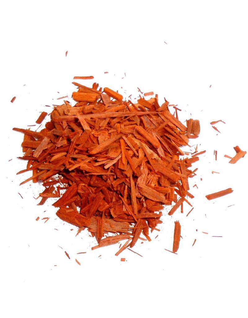 Sandelholzsplitter rot fein