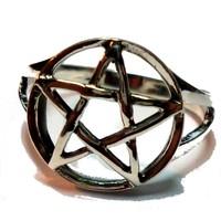 thumb-Pentagramm Ring 925-Silber-2