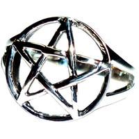 thumb-Pentagramm Ring 925-Silber-3
