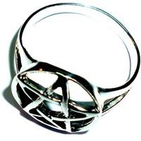 thumb-Pentagramm Ring 925-Silber-4