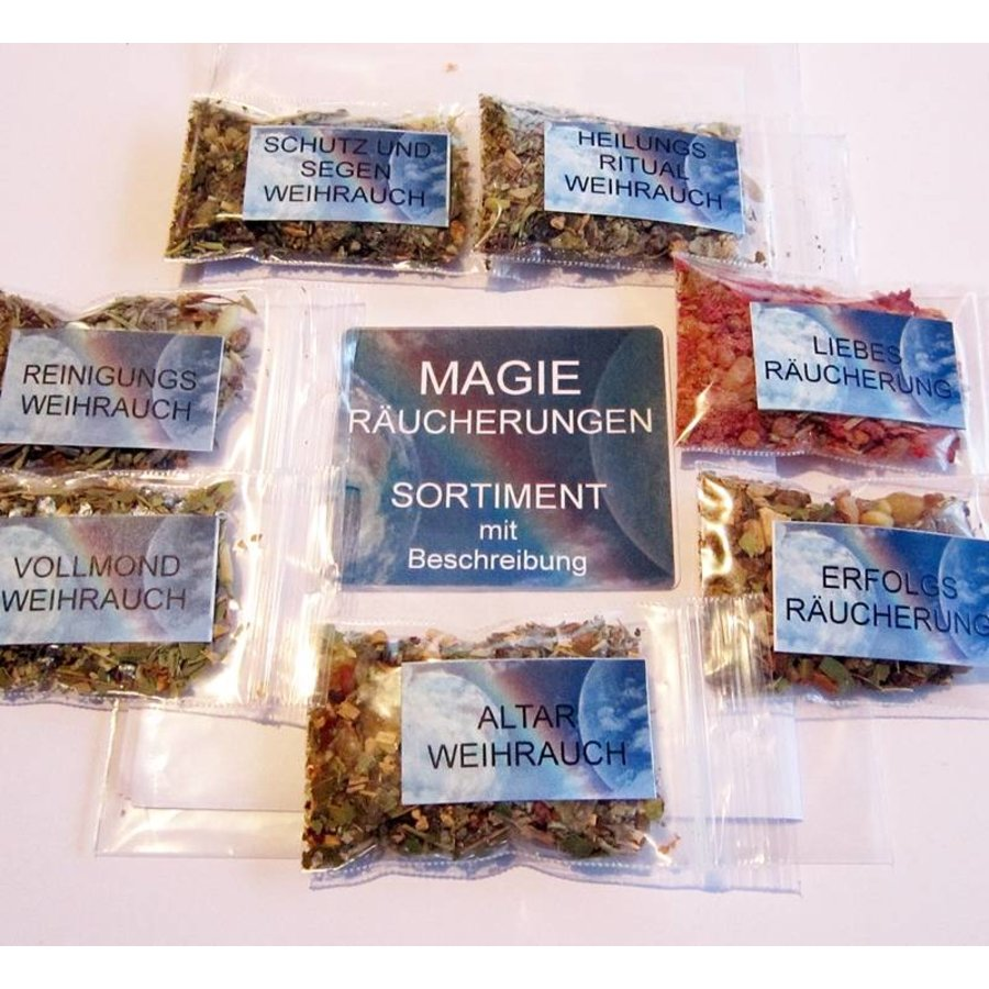 Magische Räuchermischungen Sortiment-2