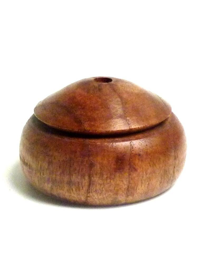 Schreibzeug Federhalter einfach aus Holz, groß