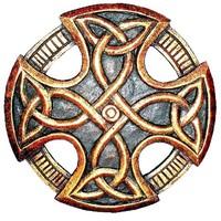 thumb-Keltisches Kreuz, geschnitzt, klein-1