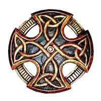 thumb-Keltisches Kreuz, geschnitzt, klein-2