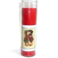 thumb-Julfest Jahreskreis Kerze im Glas-1