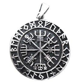 Aegishjalmur im Runenkreis
