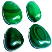 thumb-Malachit Tropfenanhänger-3