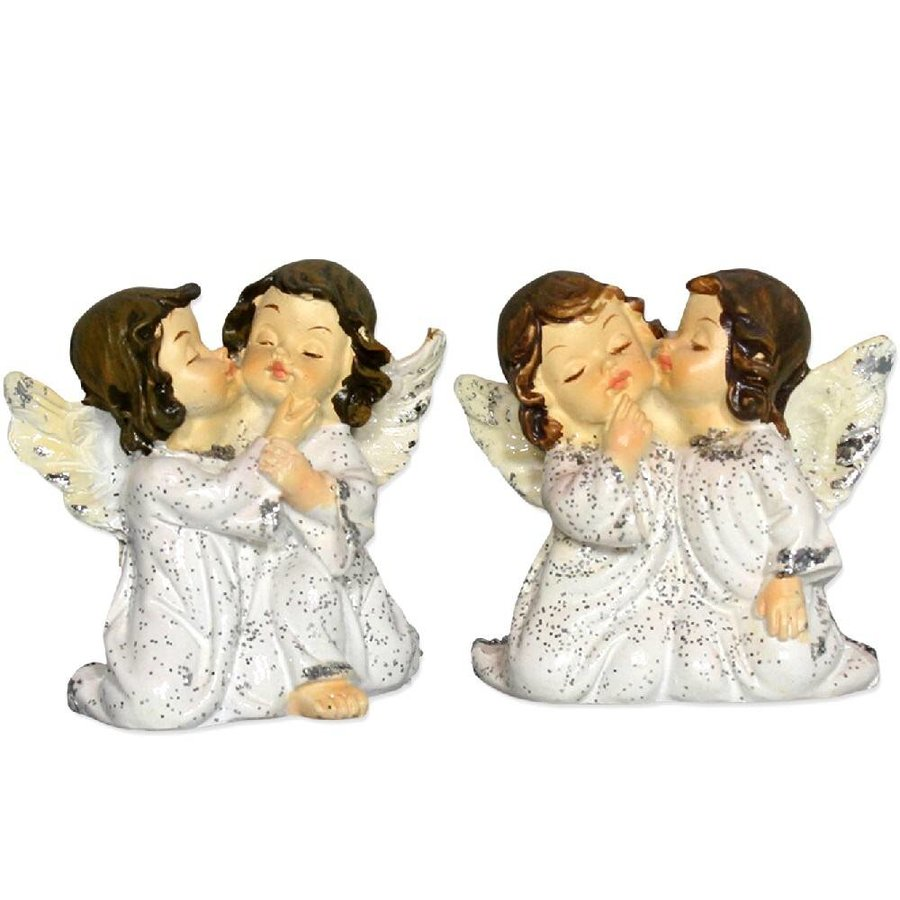 2 Engelpaare kniend und flüsternd-1