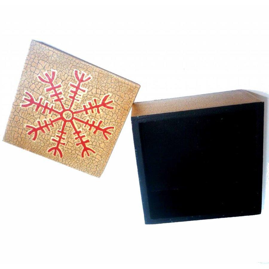 Dose Wikinger mit Symbol für Schutz-3