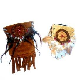 Lederbeutel Indianer