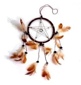 Pentagramme Traumfänger mit Pentagramm