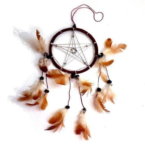 Traumfänger mit Pentagramm