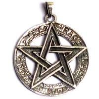 thumb-Pentagramm Anhänger, 925 Sterling Silber oder aus Bronze-6