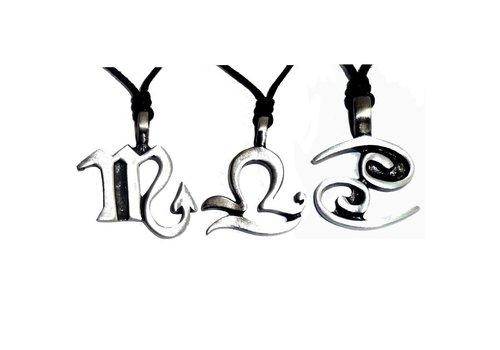 Tierkreiszeichen Anhänger mit Symbolen