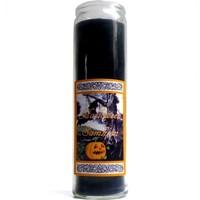 thumb-Halloween Samhain Jahreskreis Kerze im Glas-1