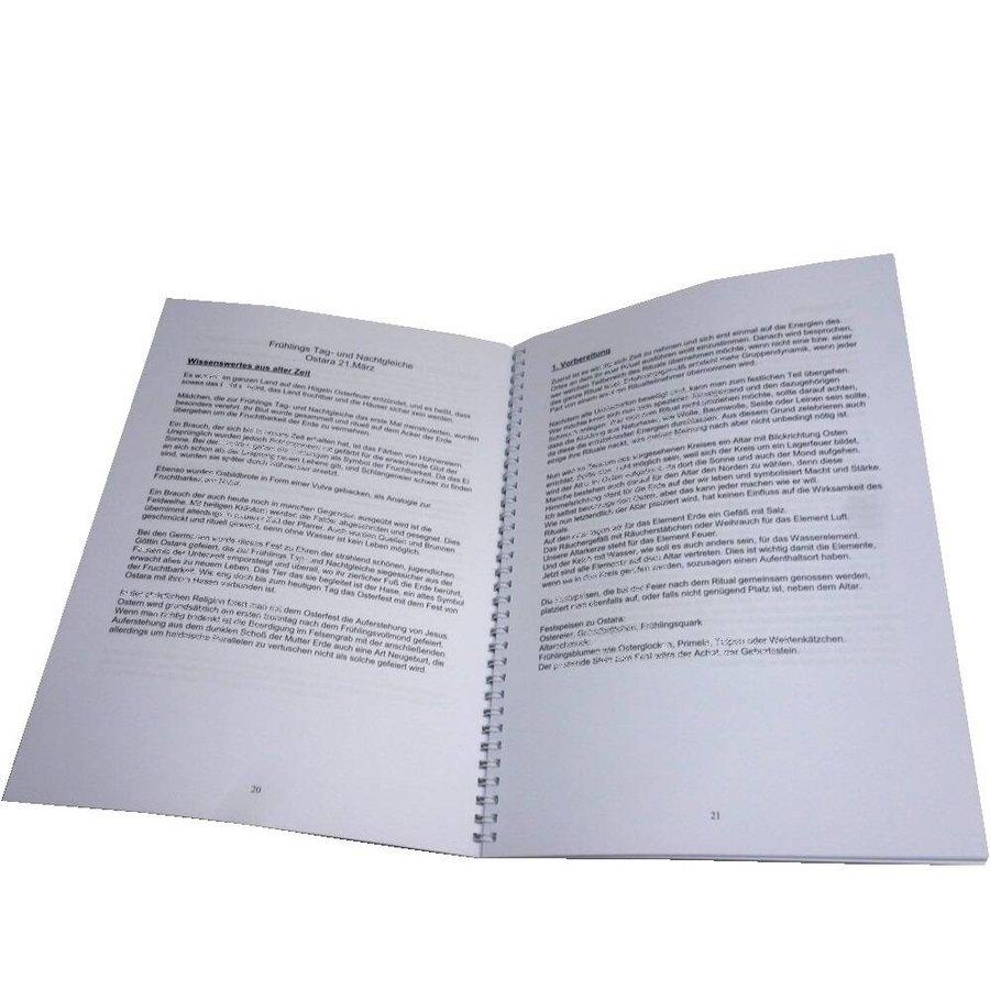 Arbeitsbuch mit Schritt für Schritt Anleitung für die acht Hexensabbate-2