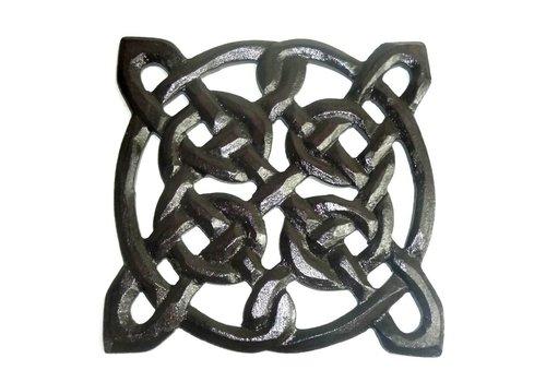 Wandrelief Holz Keltischer Knoten, klein