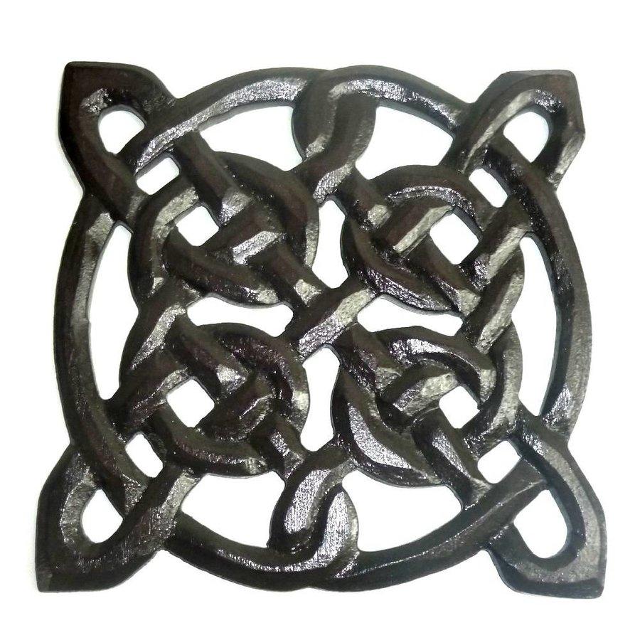 Wandrelief Keltischer Knoten, klein-1