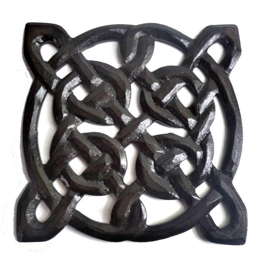 Wandrelief Keltischer Knoten, klein-2