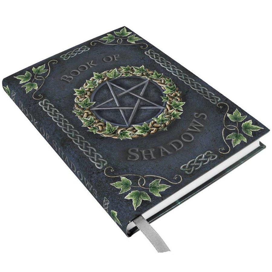 Schreibbuch mit Pentagramm und Efeu-3