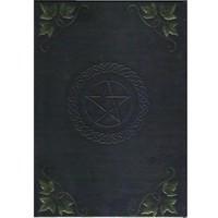 thumb-Schreibbuch mit Pentagramm und Efeu-2