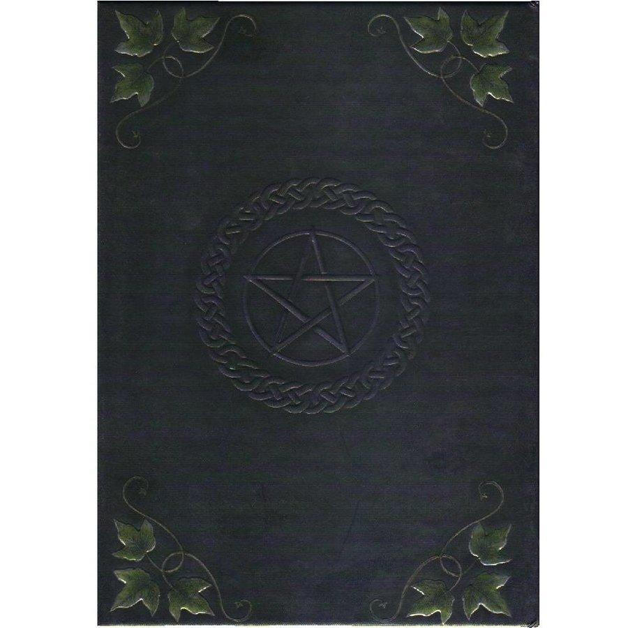 Schreibbuch mit Pentagramm und Efeu-2