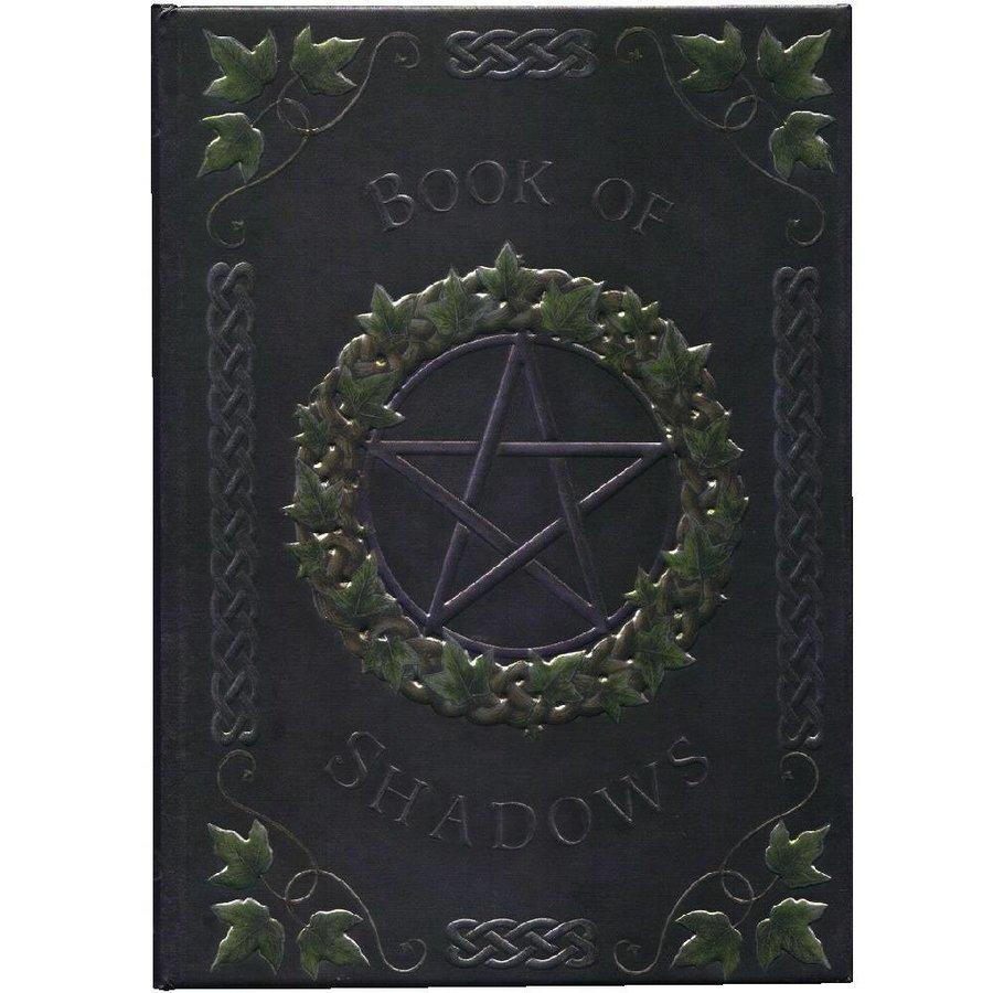 Schreibbuch mit Pentagramm und Efeu-1