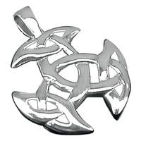 thumb-Anhänger mit Kette aus Zinn, ohne Kette aus Sterling Silber-4