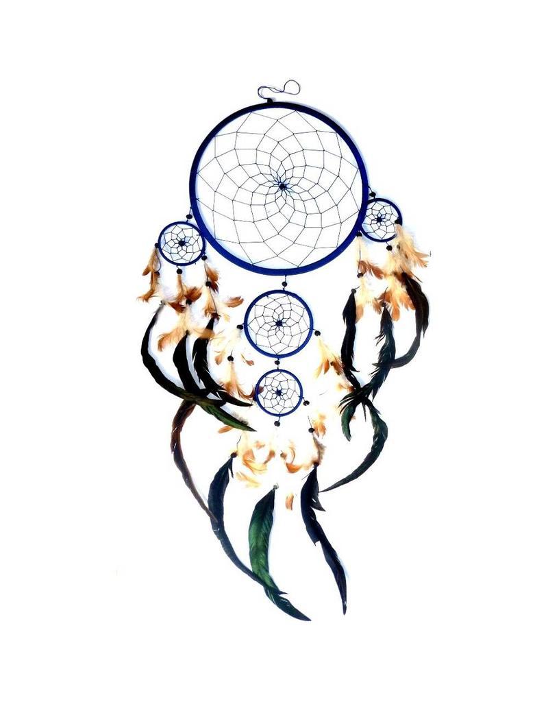 Traumfänger (Dreamcatcher) 4-fach 17 cm