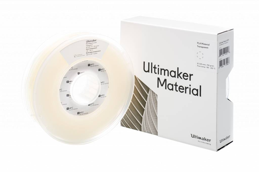 Ultimaker Filament PLA-M0751 Transparant