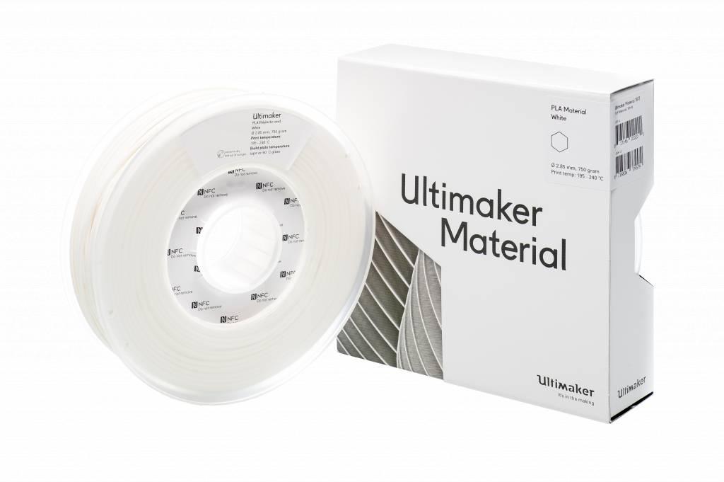 Ultimaker Filament PLA-M0751 White 750 - 211399