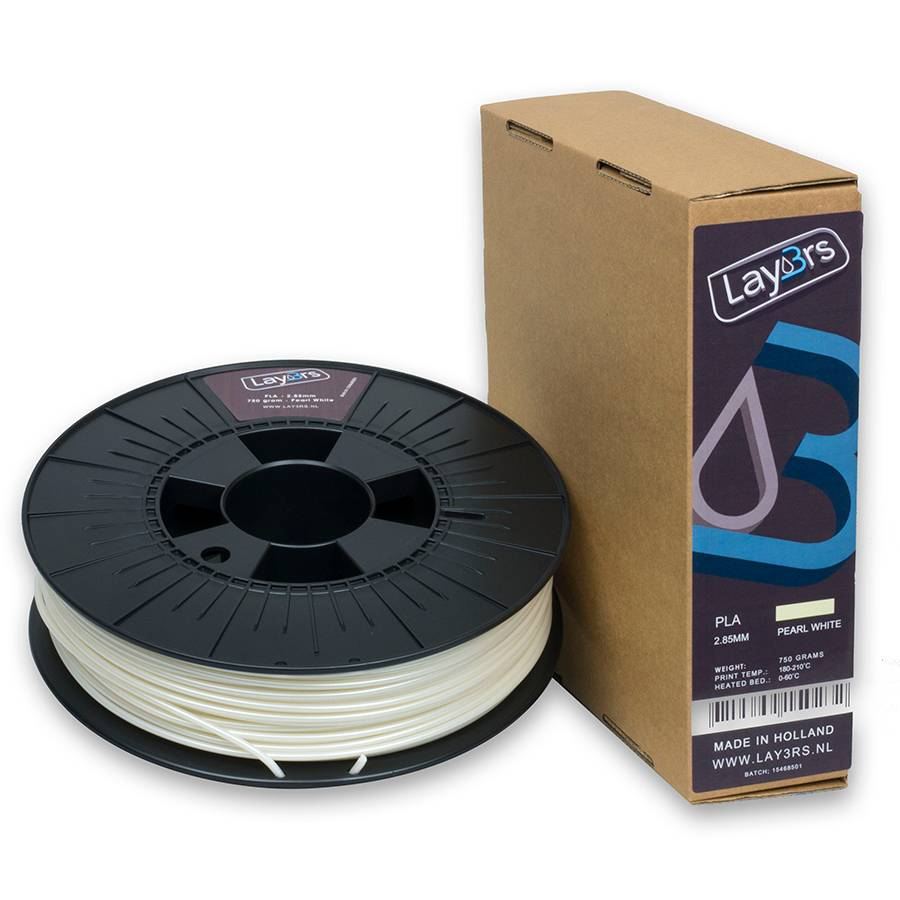 Lay3rs PLA 750gr Pearl white