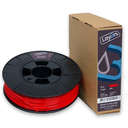 Lay3rs PLA 750gr Red