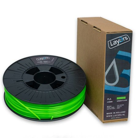 Lay3rs PLA Green Fluor