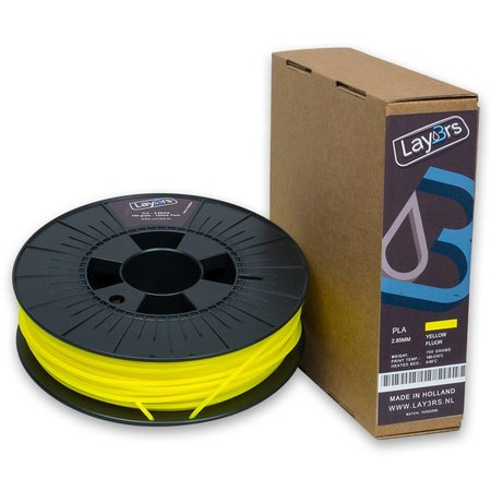 Lay3rs PLA 750gr Yellow Fluor