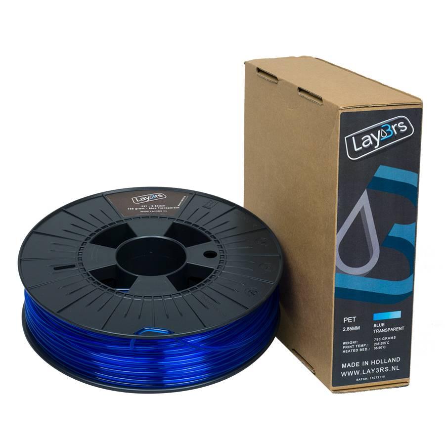 Lay3rs PET-G Blue Transparent