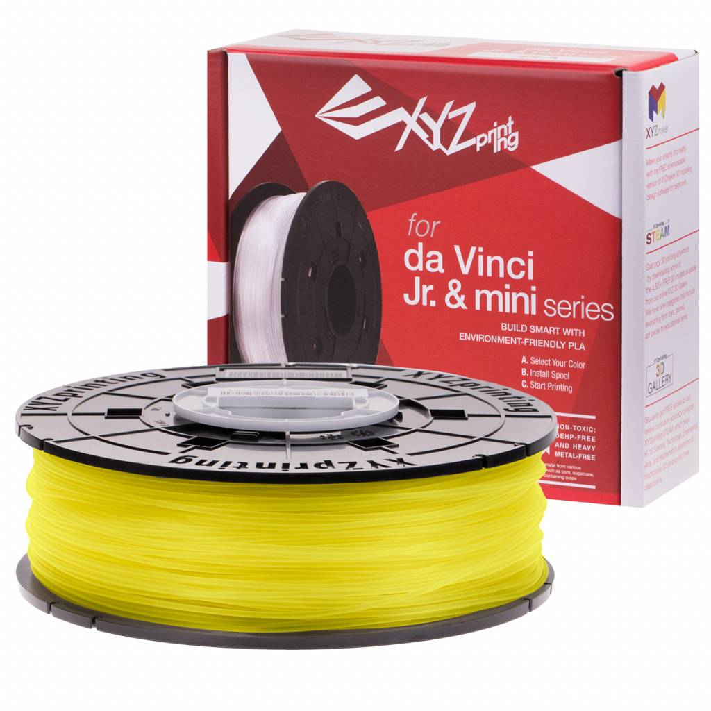 XYZprinting da Vinci Junior PLA Clear Yellow