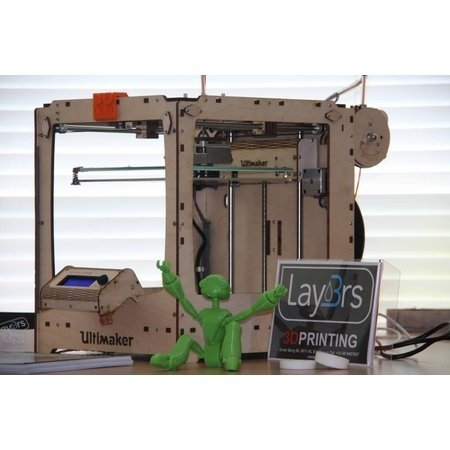 Lay3rs 3DKanjers Service en Support - Ultimaker
