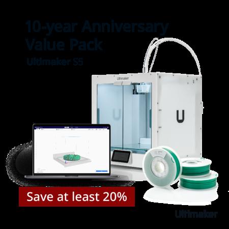 Ultimaker S5 Jubileum Value Pack