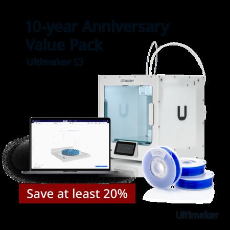 Ultimaker S3 Jubileum Value Pack