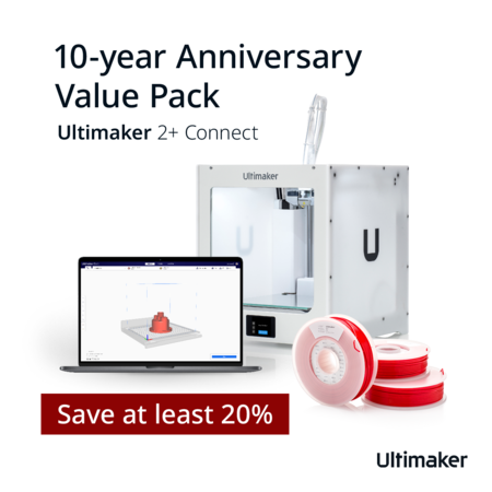Ultimaker 2+ Connect Jubileum Value Pack