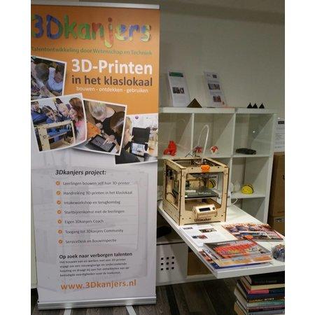 Lay3rs 3D kanjers - printen in het klaslokaal
