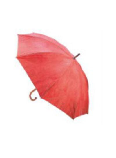 Huismerk Oranje / rode kurk Paraplu