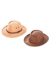 """Huismerk """"Australian"""" kurk hoed met band FHE-H19"""