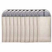 Pro Stevige Kledinghoes Met Venster Wit [135X60cm] Set 10