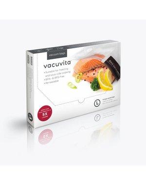 Vacuvita Vacuumzakken Voedsel 35x25cm Large [15 stuks]