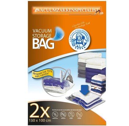 Pro Vacuumzakken 130X100 cm [Set 2 Zakken] (Geschikt voor Pro Vacuumpomp)